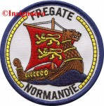 6.  Patch fregate Normandie 1
