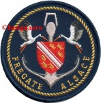 7.  Patch fregate Alsace 1