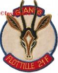 10.  Patch flottille 21F 1 GAN 6 bisse