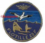 12F.  Patch Flottille 23F 7