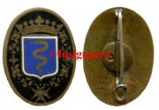 34.  Cr. Colbert de 1928 Ovale AB Bleu fonce