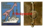 6.  Dep. d hydro Robert Giraud AB grue avec bateau blanc