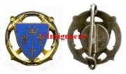 81.  Cr Jeanne d Arc rond AB bleu pale