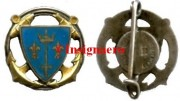 82.  Cr. Jeanne d Arc rond bleu fonce
