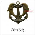 Plongeur de bord metal Drago