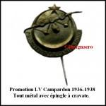 Promo Campardon 2 36 a 38 epingle a crav.