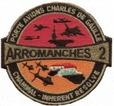 Tissu CDG operation Arromanches 2