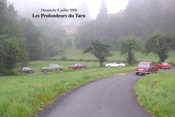 Profondeur du Tarn   2008