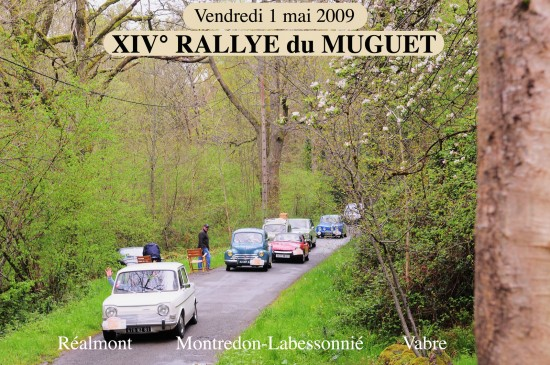 Rallye 1 mai 2009