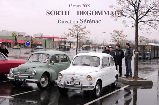 Sortie Degommage 2009