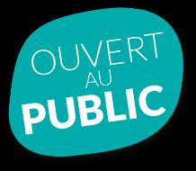 pastille Ouvert public